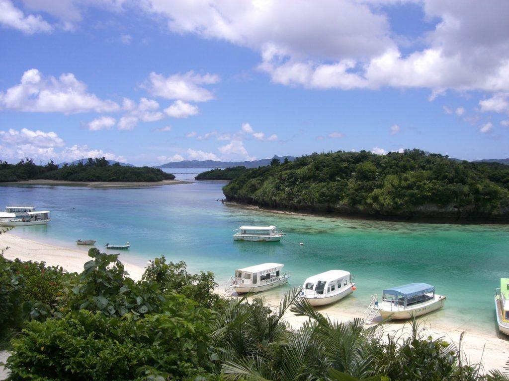 Kabira bay, Ishigakin saari